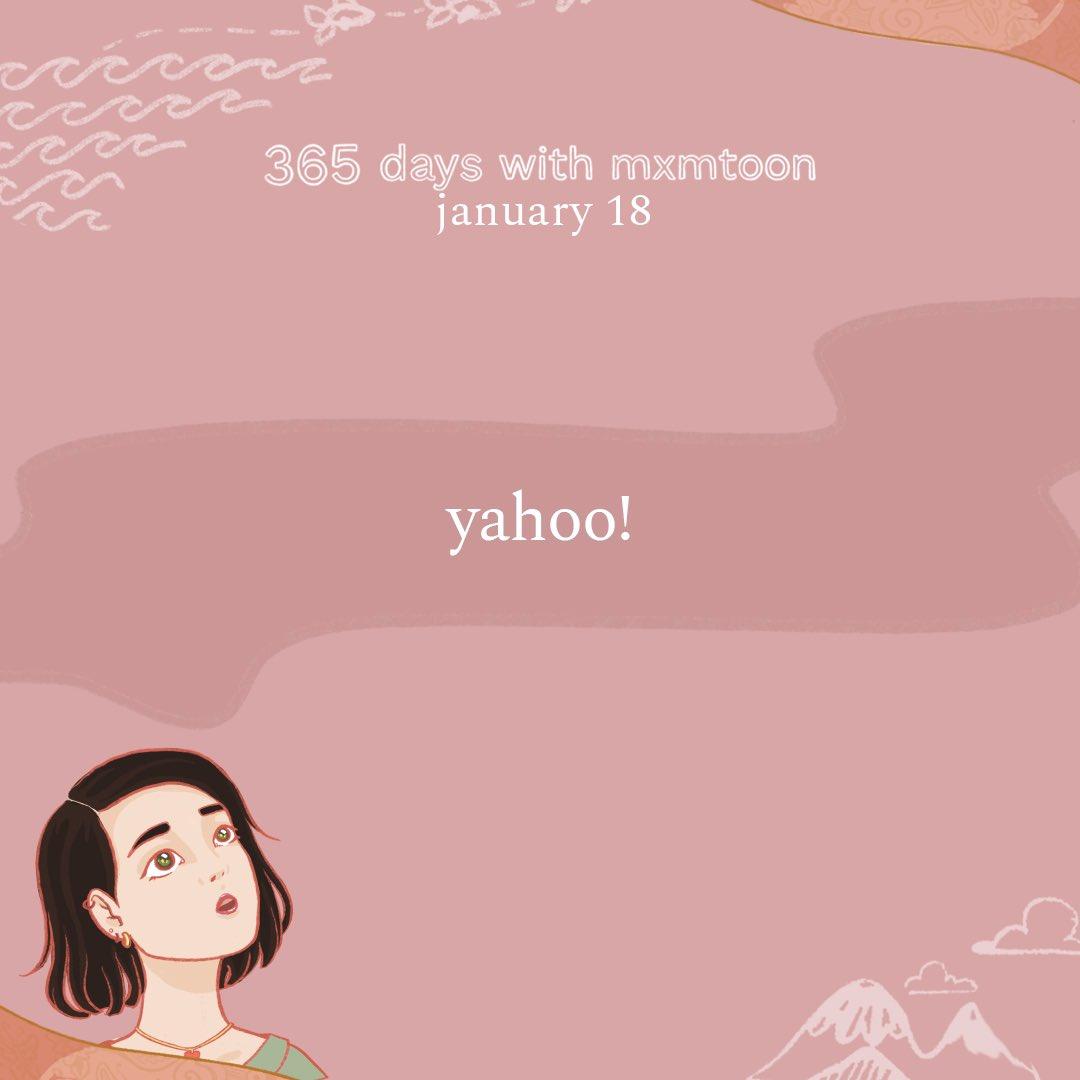 january 18: yahoo!  @mxmtoon @Yahoo @maggierogers