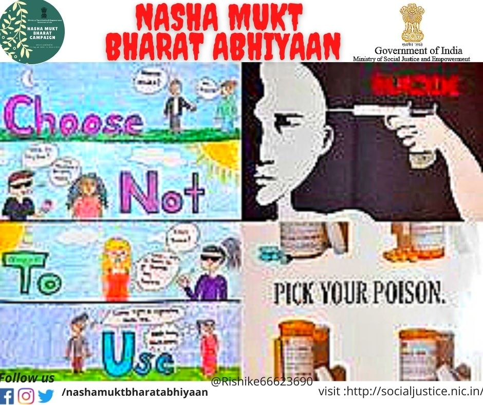 ministry of justice and empowerment @NMBA_MSJE  #nashamuktbharatabhiyaan #NashaMuktBharatAbhiyaan #DrugFreeIndia #NMBA #nmba #ZeroAdddiction #nodoping #gaya #india #nasha #drugfree #recovery #addiction