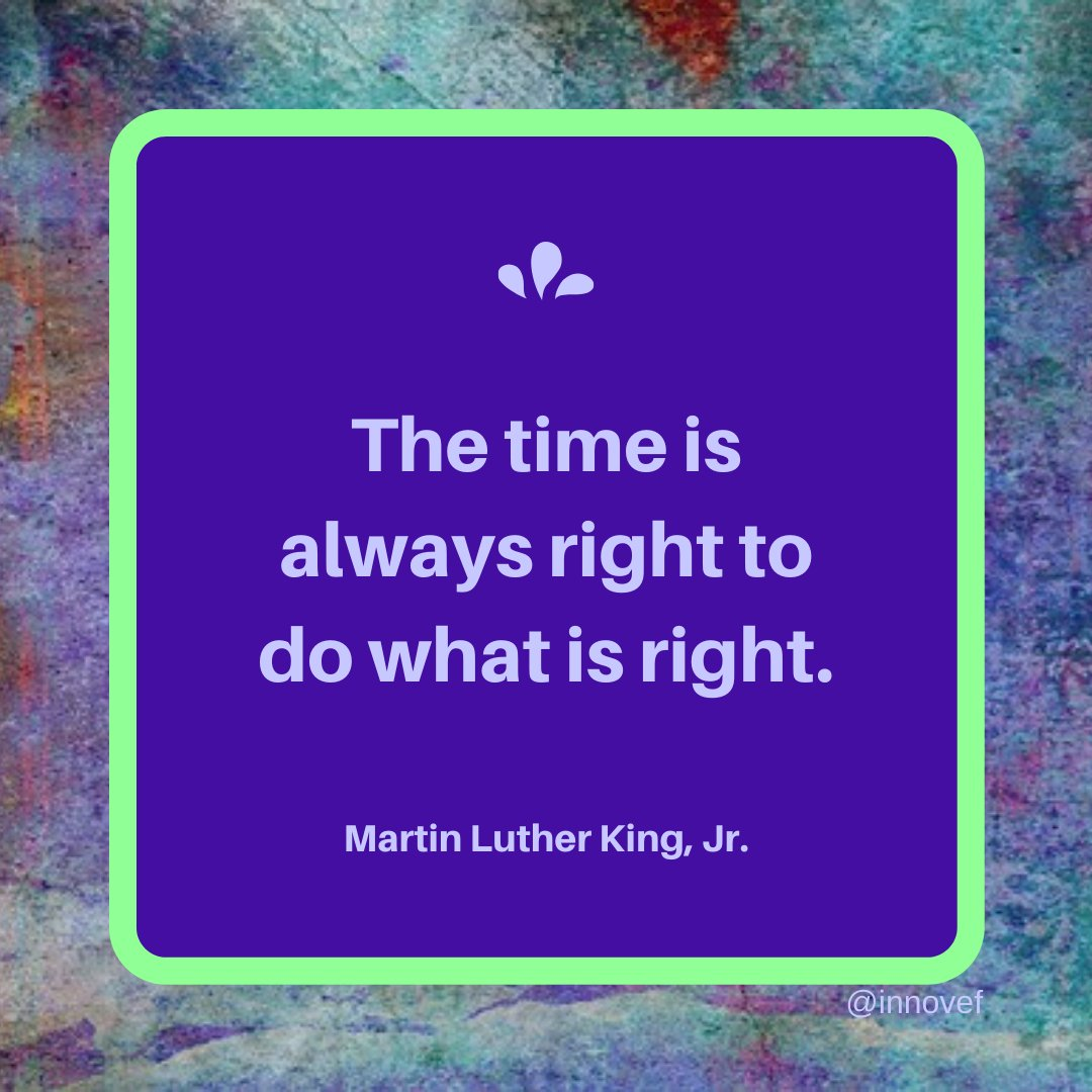 """""""The time is always right to do what is right.""""~Martin Luther King, Jr. #MLK #martinlutherking #MLKday #QOTD #wisdom #quotes #motivation #encouragement #MondayMotivation #MondayMorning #MondayThoughts #IQRTG"""