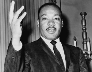Dr. King's teachings were brave and bold and his legacy forever etched in the fabric of our nation and local communities. Let's teach our children their voice matters. #ihaveadream #literacy @reachoutandread @Scholastic
