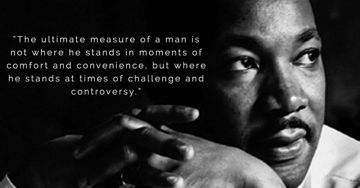This is one of my favorite Dr. Martin Luther King Jr. quotes.   It reminds me just how much we are defined by the obstacles we face. On this day of service, what are some of your favorite MLK quotes.  #MLK2021 #BetterTogether #team19