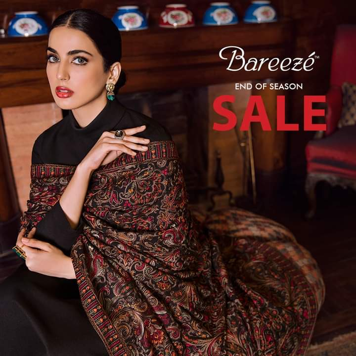 #shopping Bareeze end of season sale - Visit your nearest store or shop online at  to enjoy the amazing discounts. #endofseasonsale #sale #winter #bareeze #AmanahMall #BestInTown