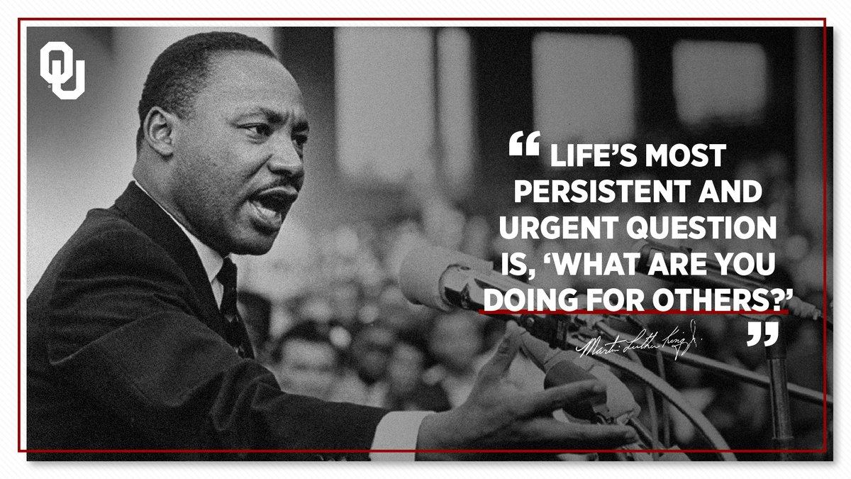 𝘞𝘩𝘢𝘵 𝘢𝘳𝘦 𝘺𝘰𝘶 𝘥𝘰𝘪𝘯𝘨 𝘧𝘰𝘳 𝘰𝘵𝘩𝘦𝘳𝘴? #MLKDay