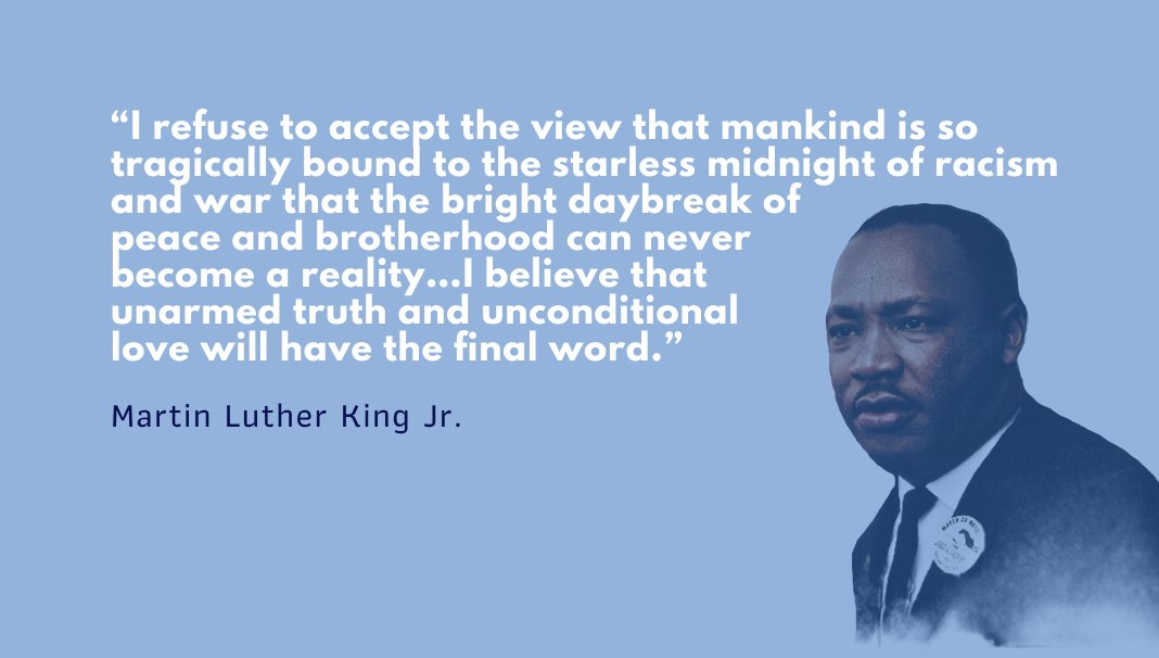 Honoring Martin Luther King Jr. and reflecting on his enduring words that continue to resonate. #MLK