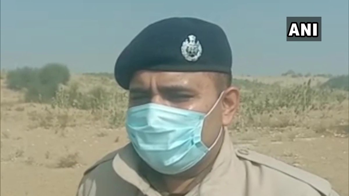"""Rajasthan: Body of a minor girl was found in an agriculture field in Barmer district earlier today.  """"We have sent the body for post mortem and have collected evidence. Probe has been initiated,"""" says Anand Sharma, SP, Barmer"""