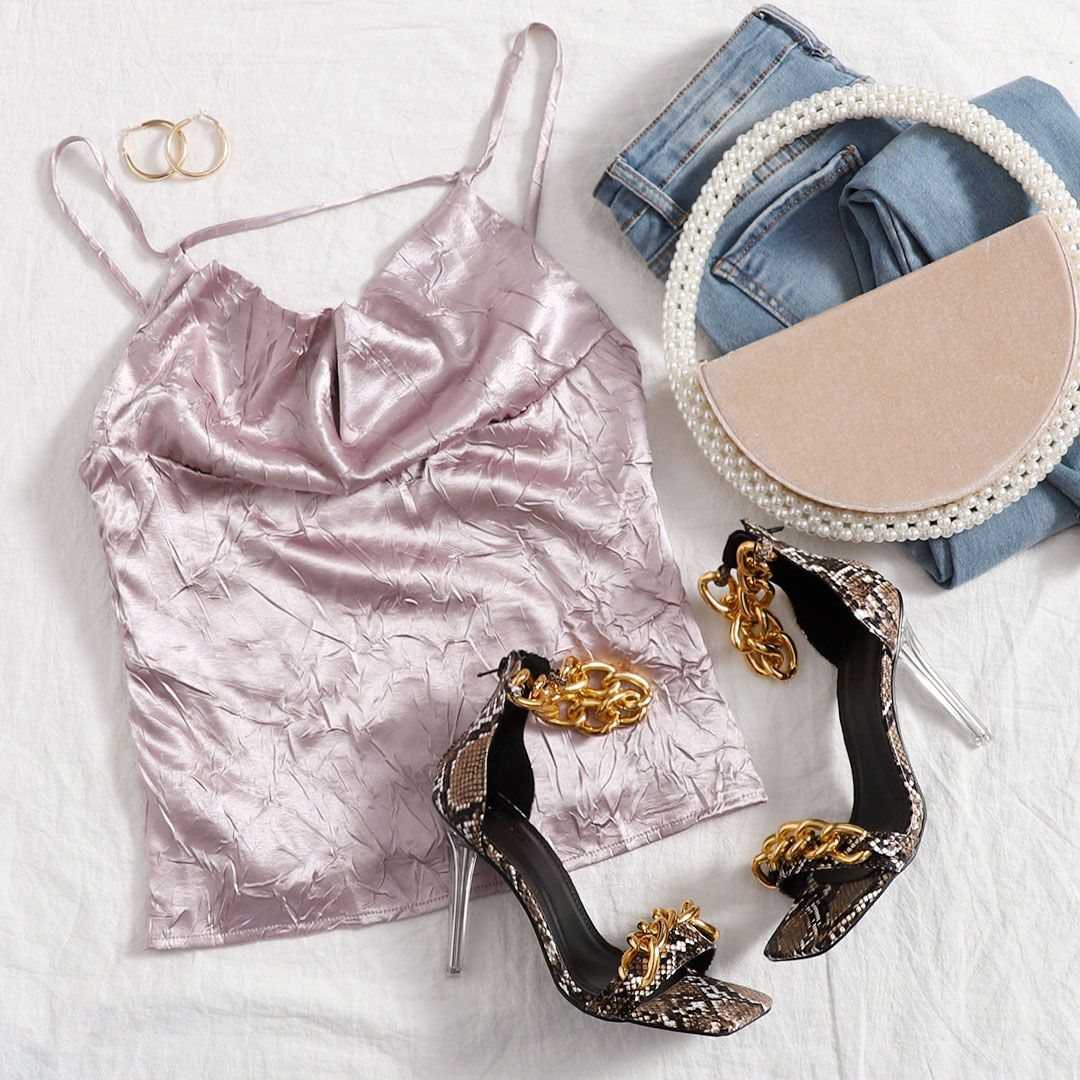 Make any look pop 💘 Shop now>>     #SHEIN #SHEINstyle #SHEINSS21 #tops #pink