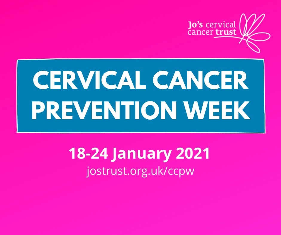 It's #CervicalCancerPreventionWeek visit  for support, tips and latest information.