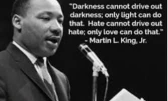 On this Martin Luther King, Jr. day (and every day) we need to remember to lead with kindness and love. Now more than ever, hate has no place in our world. We must all do better. #MLK2021