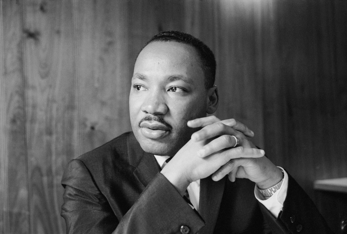 Martin Luther King Jr. stood for equality, unity and EVERYTHING we are STILL trying to achieve in America… And they killed him. Let that sink in today..