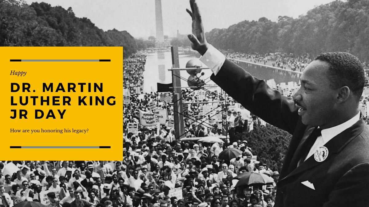 Remember, civil rights should be everyone's dream. We asked some of our employees what #MLK day means to them and how they honor his civil rights legacy. Follow the thread below.