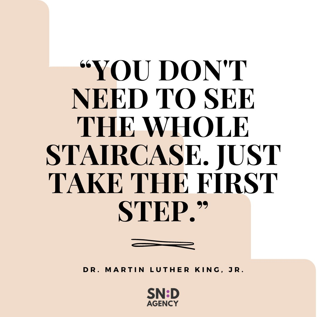 Today's #MotivationMonday comes from Dr. Martin Luther King, Jr. today, as we honor his life and legacy. Share your favorite MLK quote in the comments below!