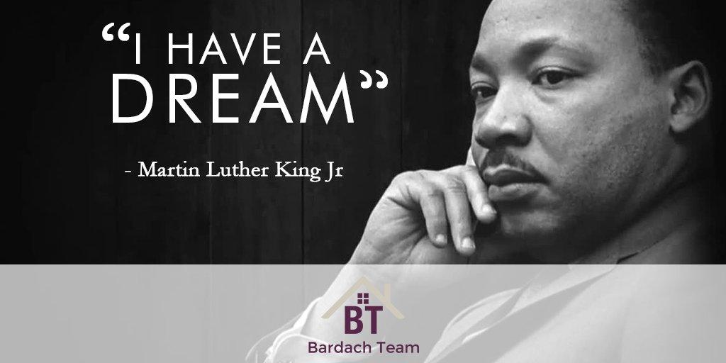 Happy Martin Luther King Jr. Day! #MLK #IHaveADream  #bardachteam #morriscountyrealtor
