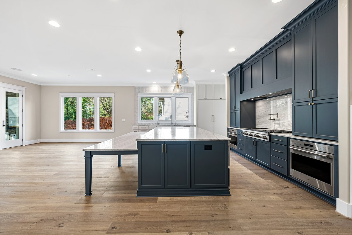 This home was definitely built for entertaining!  Some amazing details were put into this one from the crew at Exeter Building Company #milliondollarlisting #2millionactually #luxury #realestate #realtor #photography #photographer #flyboync #interior #kitchen #homedesign