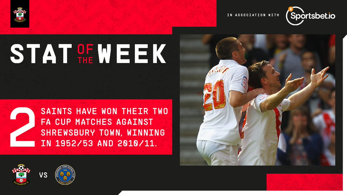 Replying to @SouthamptonFC: Ready for a third #FACup encounter 🏆  This week's @Sportsbetio Stat of the Week: