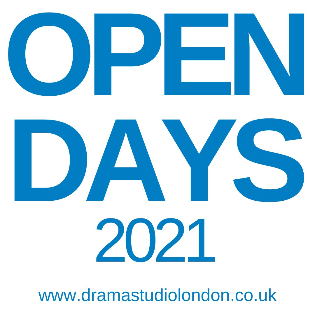 We've got Online Open Days in January, February & March. Next one is Wednesday 27 January, 6.30-8.00pm. Talk to staff and recent grads about any of our 3 full time courses and what #dramaschool is really like. Book now >  #WhyDSL #MondayMotivation