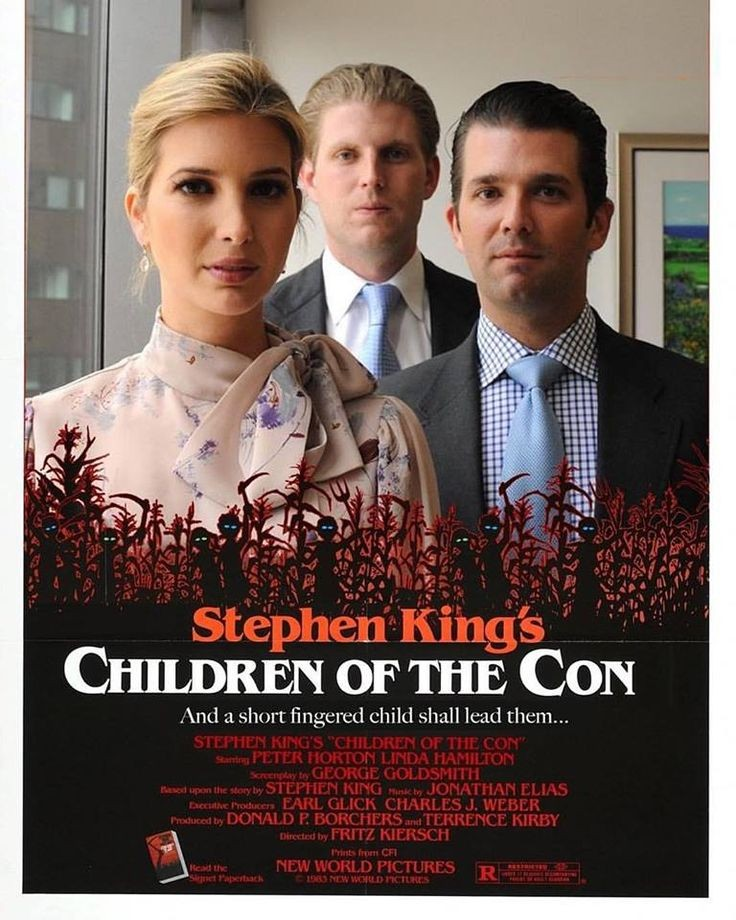 #AfterTrump I will be enjoying this new horror movie by Stephen King