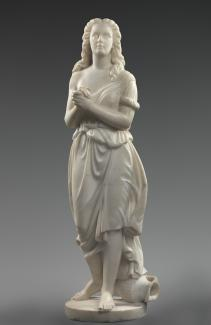 """""""Hagar in the Wilderness symbolized many freed women with no place to go."""" The world's largest collection of Edmonia Lewis's works is at The Smithsonian museums, Washington, DC. @AmericanArt @smithsoniannpg #MondayMorning #MLKDay"""