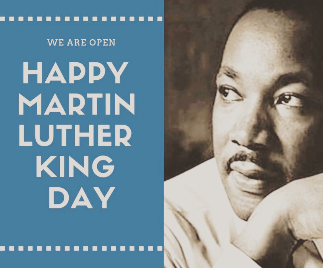 """""""Life's most persistent and urgent question is, What are you doing for others?"""" We are OPEN our normal hours today, 7am-7pm, in #Burlington & #Wakefield. Let us know how we can help! #HDPT #PT #physicaltherapy #mlk #martinlutherkingjr #martinlutherkingday #mlkday"""