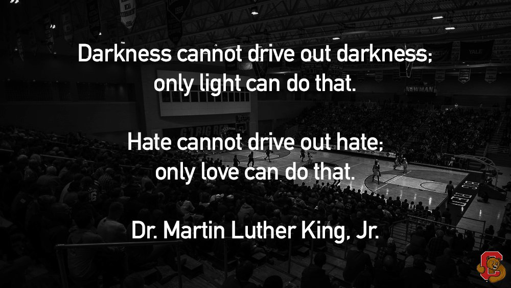 Today we celebrate the life and legacy of Dr. Martin Luther King, Jr. and continue to build toward a truly equal and inclusive United States of America.  #MLKDay #YellCornell