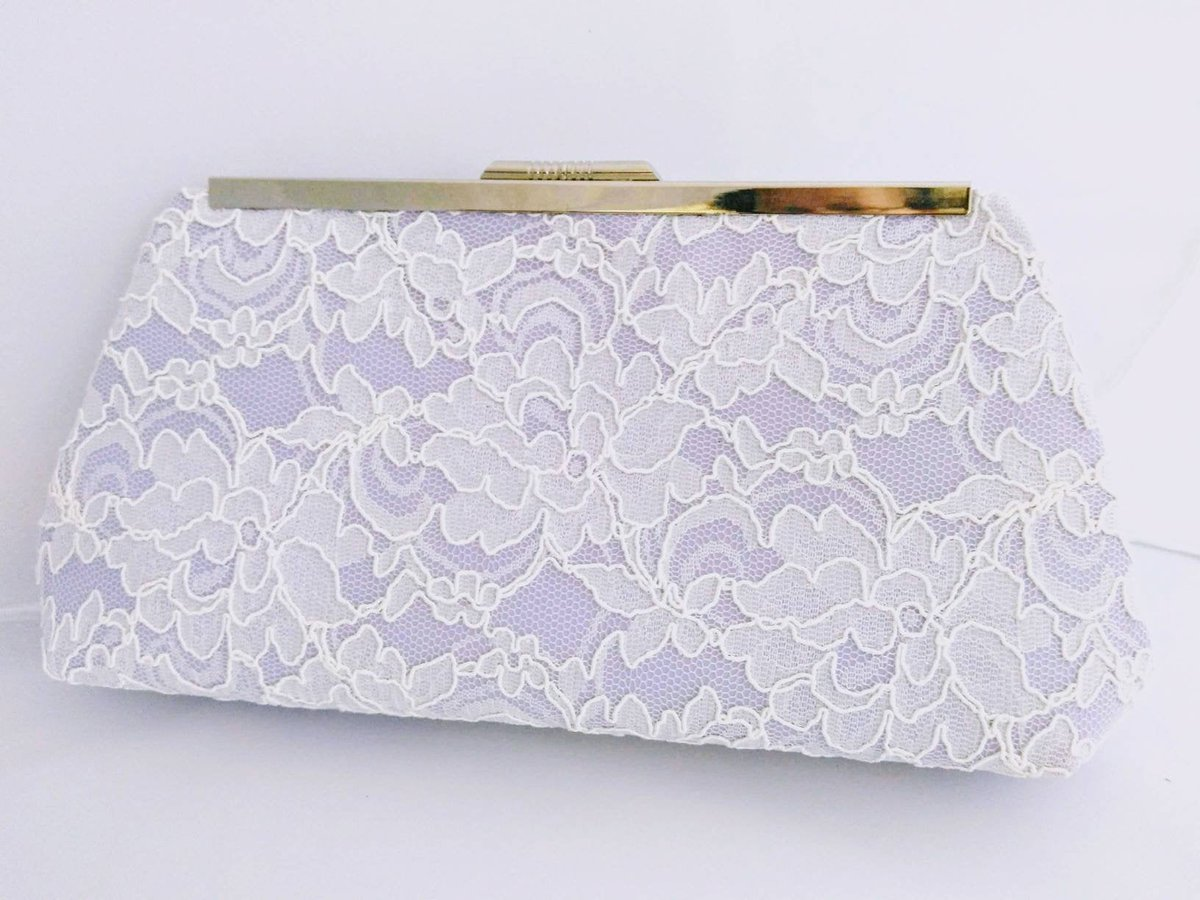 Excited to share the latest addition to my #etsy shop: white lace clutch purse, lilac bridal clutch, bridal clutch purse, white wedding purse, lace Bridal clutch, lavender Bridal purse  #white #wedding #classic #clutch #purple #bridesbythesea #wh