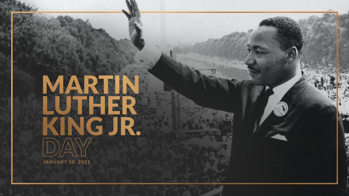Today we celebrate the life of Dr. Martin Luther King, Jr. and honor his legacy of hope and opportunity for all Americans. #MLKDay https://t.co/k1roAIohwf