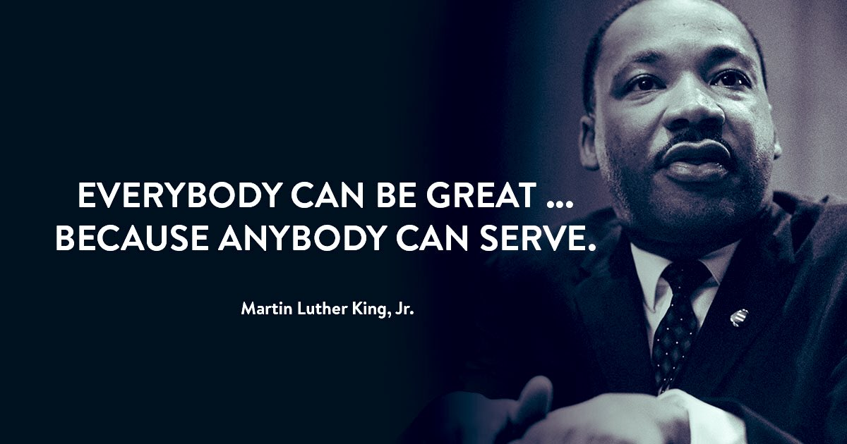 Doing is just as important as remembering. #Altiora #MLKDay