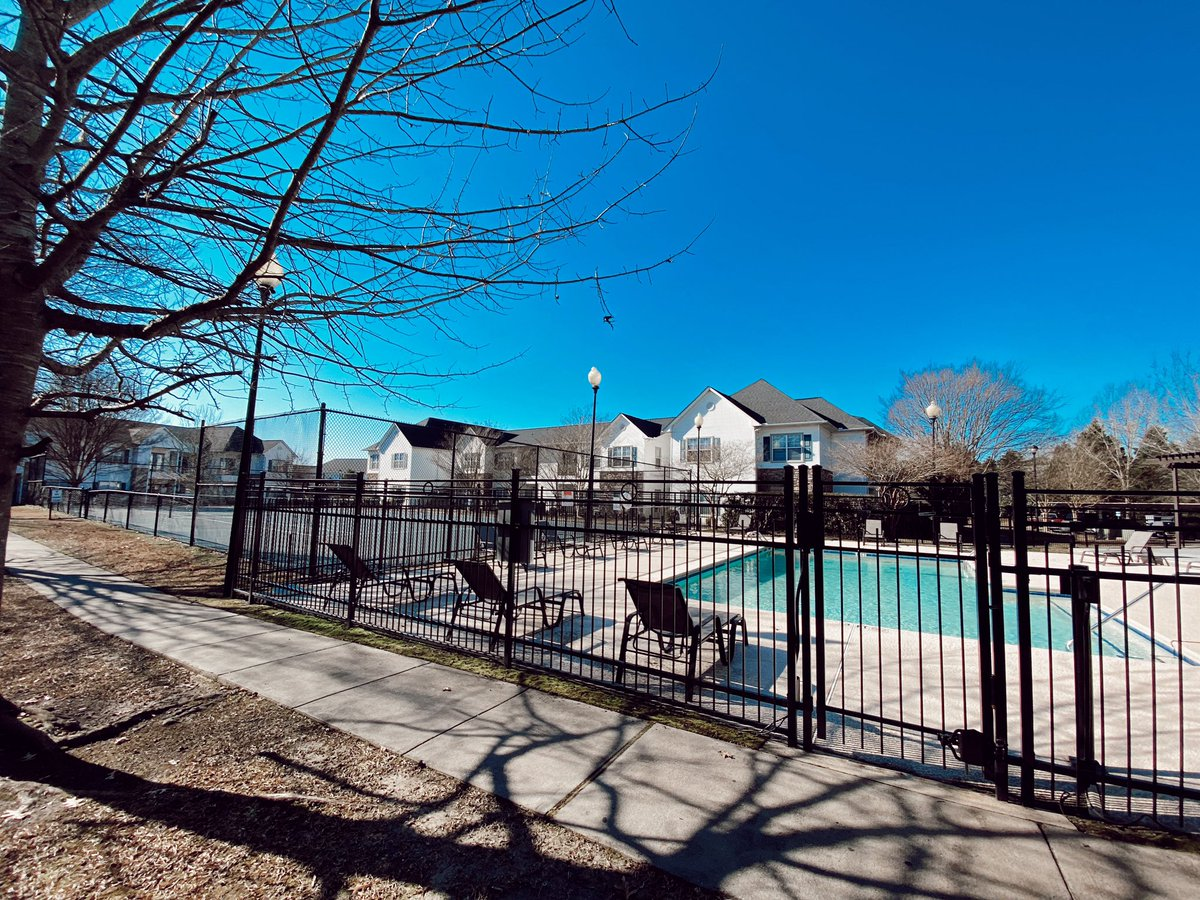 Counting down the days to warmer weather! Where can we find you?? At the pool, or at the tennis court? 😍 . . Call us to schedule a tour to start that summer countdown with us!! ☀️☀️ . . 252.355.4648  #thepointeofliving #greenvillenc #apartments #summer