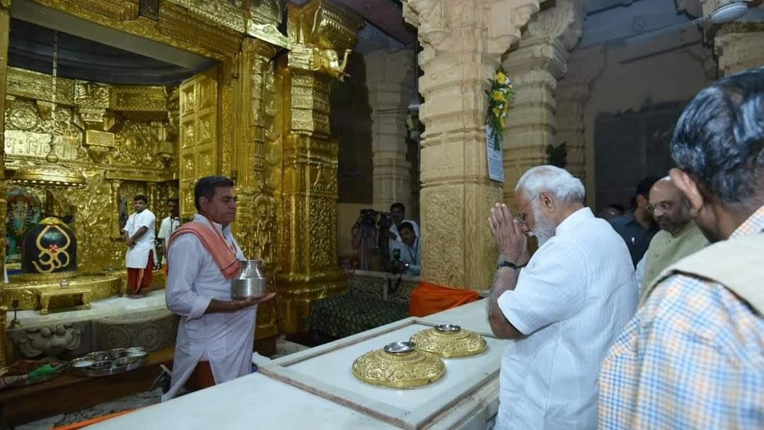 माननीय प्रधानमंत्री नरेन्द्र मोदी जी को सोमनाथ मंदिर ट्रस्ट के चेरमेन पद पर नियुक्ति होने पर अभिनंदन ओर शुभकामनाएं।...जय सोमनाथ 🕉🙏🚩  @narendramodi