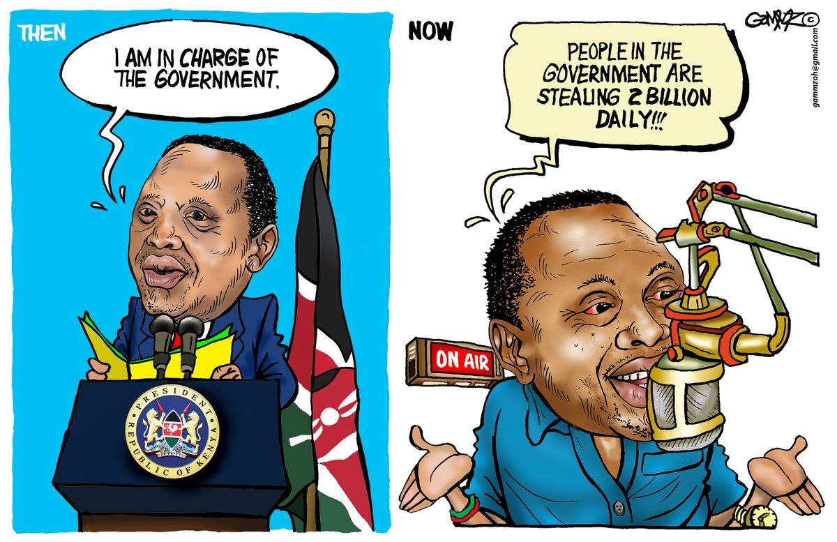 #UhuruSpeaks Read between the lines... Ooops! Sorry, the drawings. #MondayThoughts Cartoon INSPIRED by #KOT