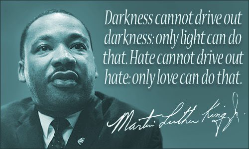 In honor of Dr. Martin Luther King. #mlk #mlkday #motivationmonday #postivity #love #light #faith #kindness #believe #onefootinfrontoftheother #keepcalmandcarryon #blm