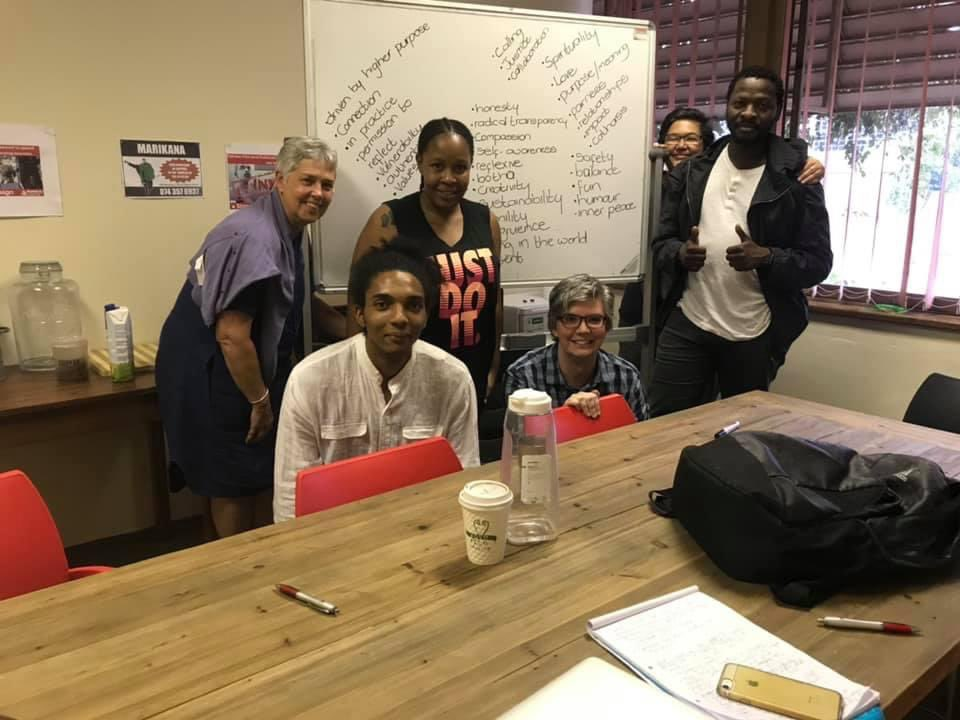 Happy birthday to our leader @Kmoeti - founder & leader of @AmandlaMobi. Your vision, courage, vulnerability, mischief, movement-building ethos are truly inspiring! Amandla✊🏿
