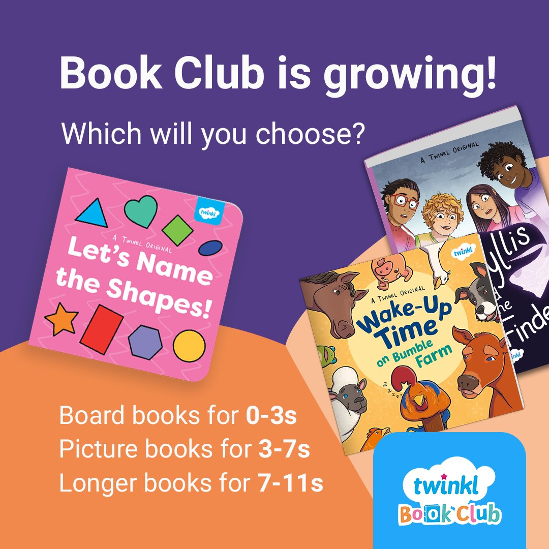 If you have an Ultimate subscription, make sure you're making the most of it by joining Book Club! We'll send you a brand new book each half term. That's over £40 worth of books every year!
