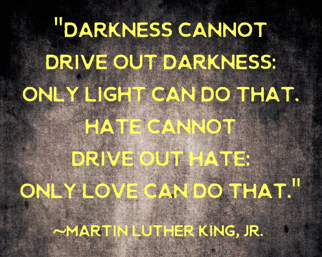 Replying to @BarbMcQuade: So much wisdom from Dr. King, but this one seems particularly appropriate for our times. Happy #MLKDay