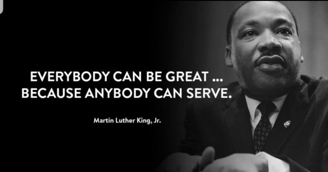 Today, Martin Luther King Jr. Day, we honor the life and legacy of Dr. King through service to our communities. We are proud to sponsor President-Elect Biden and Vice President-Elect Harris's National Day of Service. Join us at .