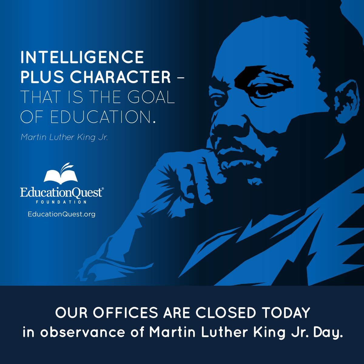 Today, we honor a great man.  #peace #character #intelligence