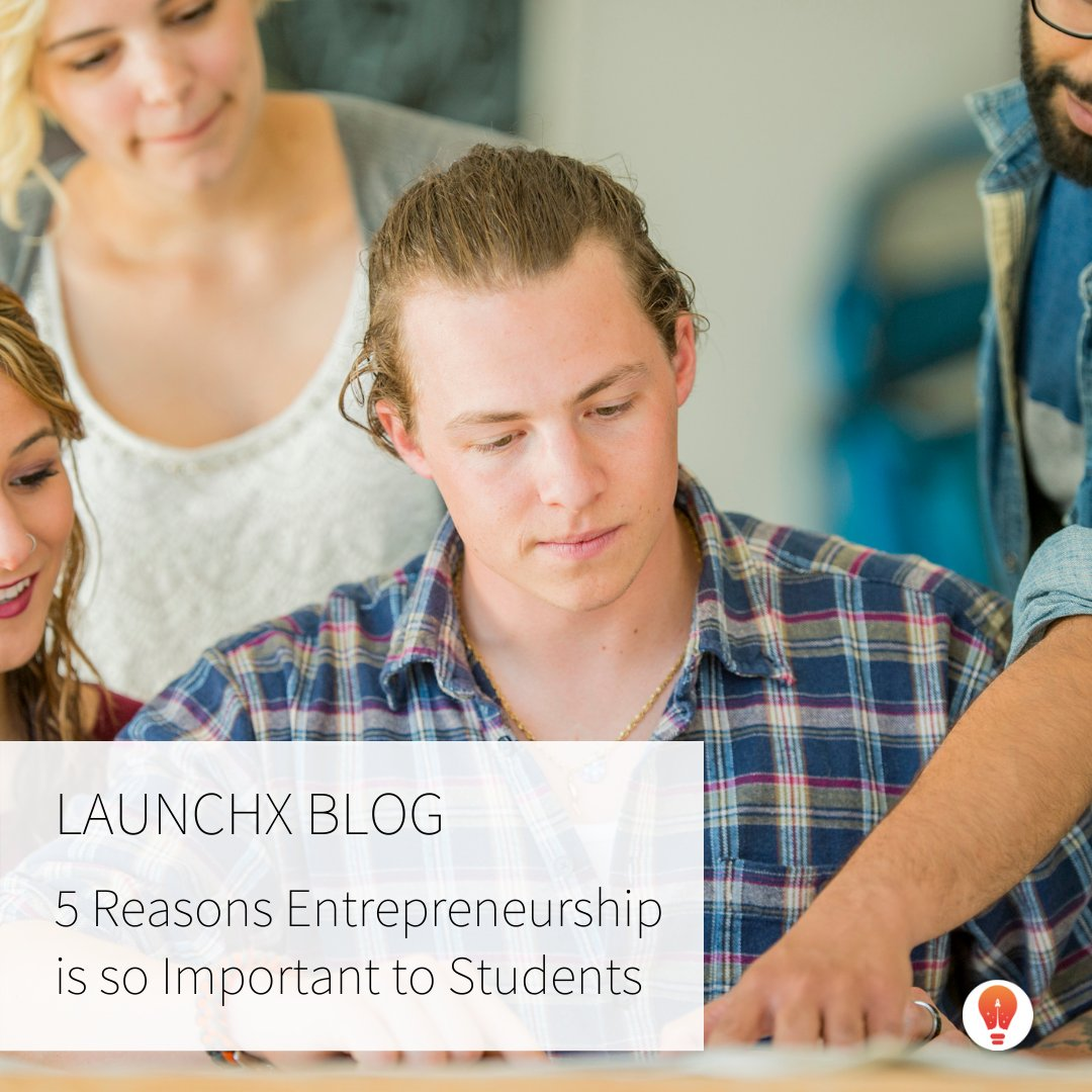 Entrepreneurship creates value for students! 📚 Check out our blog post to read more. . . .  . . . #entrepreneurship #startup #teenentrepreneur #youngentrepreneur #business #students #important #summer #program #learn #education #future #businessowner
