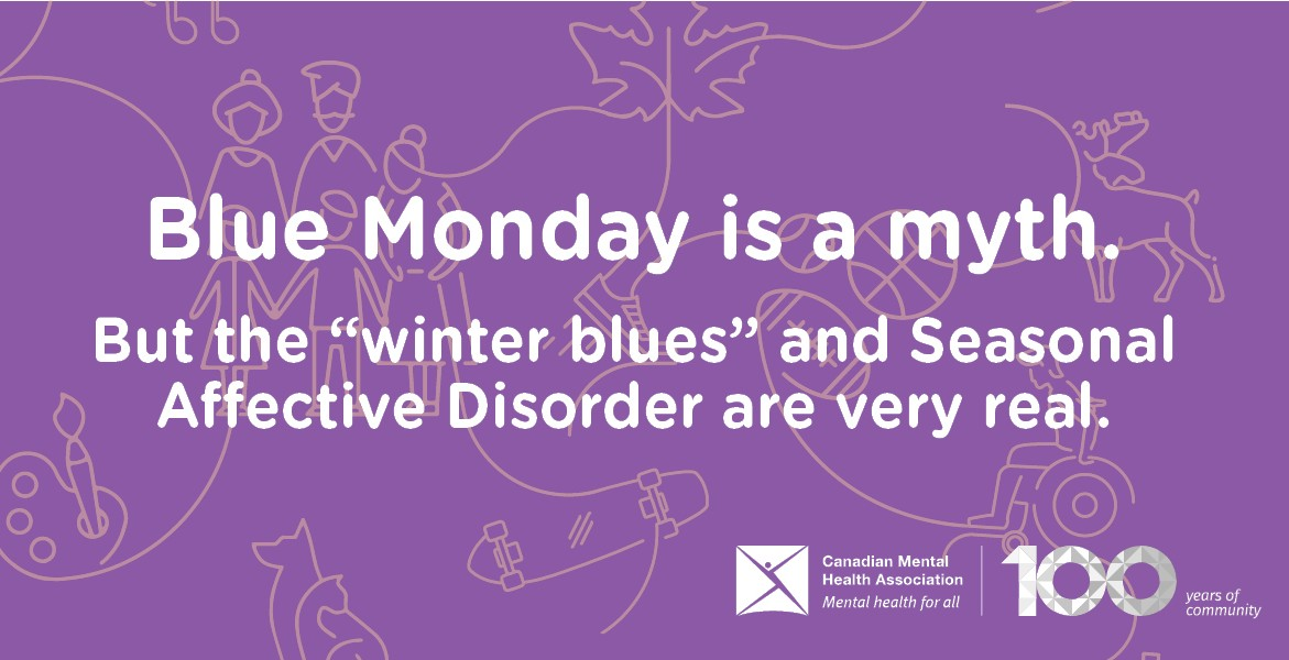 "Is Blue Monday really the most depressing day of the year? Scientifically speaking, no. What is very real, however, is Seasonal Affective Disorder, and so are the ""winter blues."" Read more: http://ow.ly/TnQN50DbmjW #BlueMonday #WinterBlues #SAD #MentalHealth"