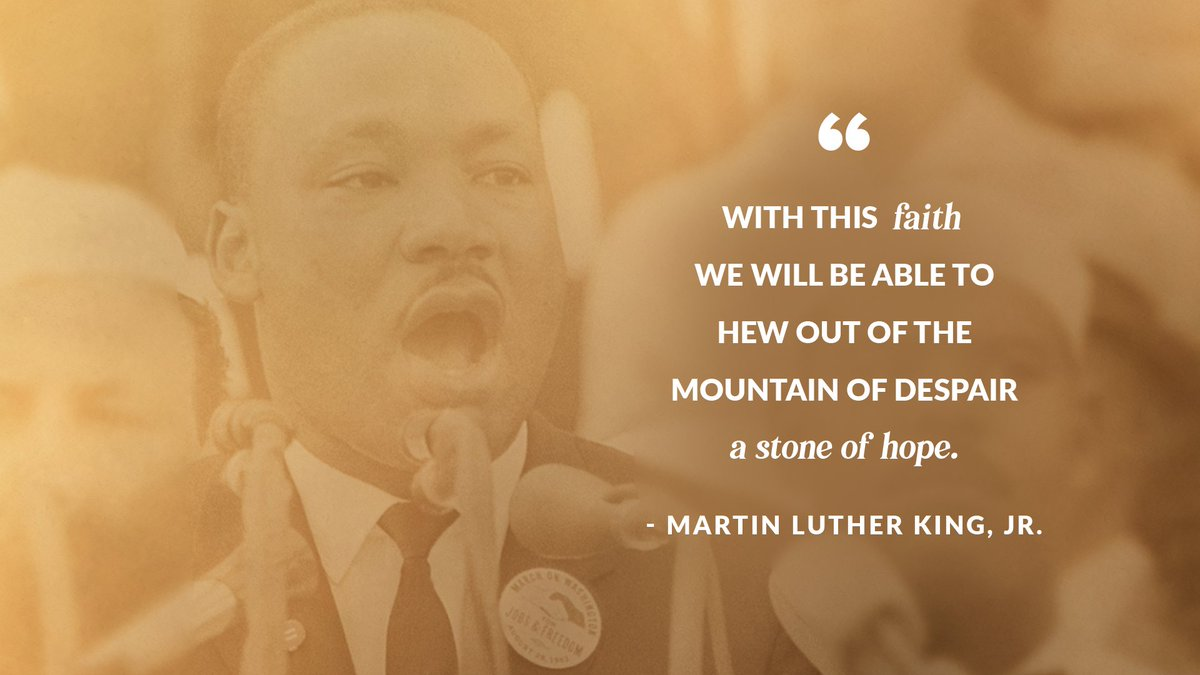 As a young man, we had separate bathrooms, water fountains, and schools. Thanks to heroes like #MartinLutherKingJr, my children and grandchildren get to live their American dream. As we honor Dr. King's legacy, let's reaffirm his devotion to creating a brighter future for all. https://t.co/nONyAR589b
