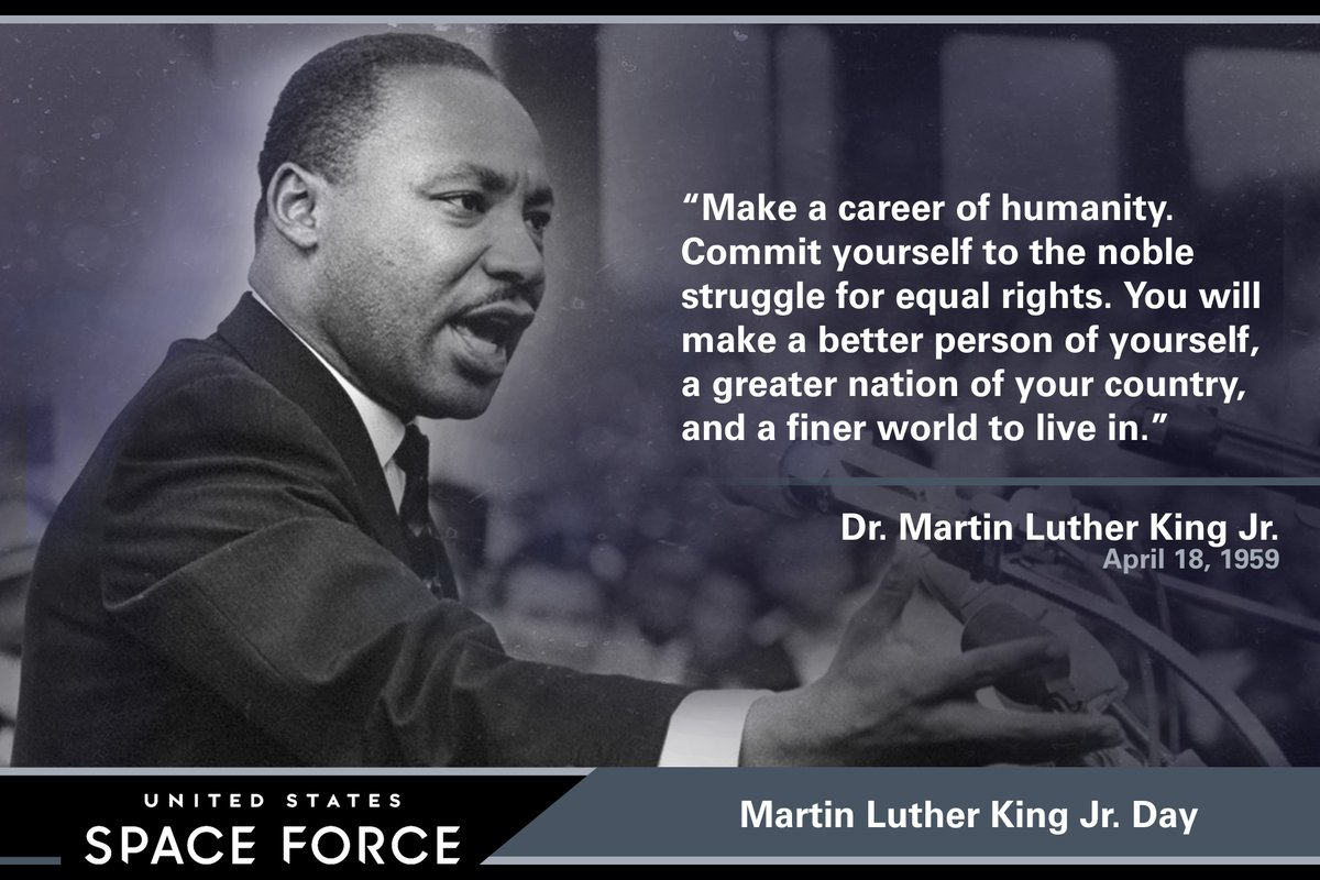 Today, we celebrate the life and achievements of the great Civil Rights leader, Dr. Martin Luther King, Jr.