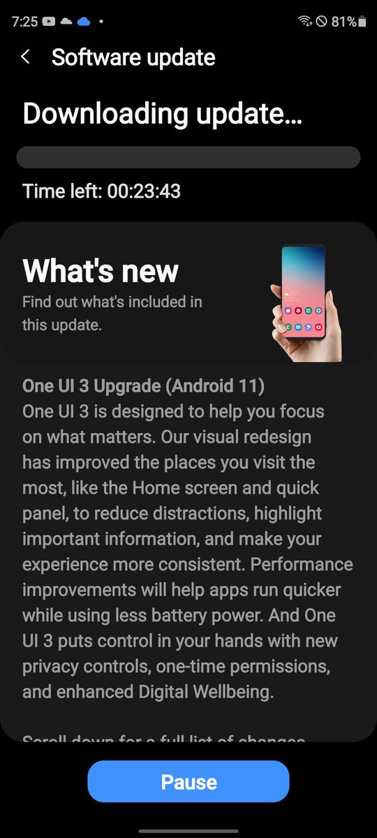 Great News!!!!! The Unlocked Variant of the Samsung Galaxy S20 FE is receiving Android 11 One UI 3.0 Today!!!!! @SamsungMobileUS #withGalaxy #android11