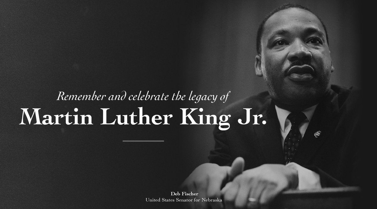 Today, we honor Dr. Martin Luther King, Jr., whose legacy fighting for equality for all Americans inspires us as we strive to become a more perfect union. #MLKDay