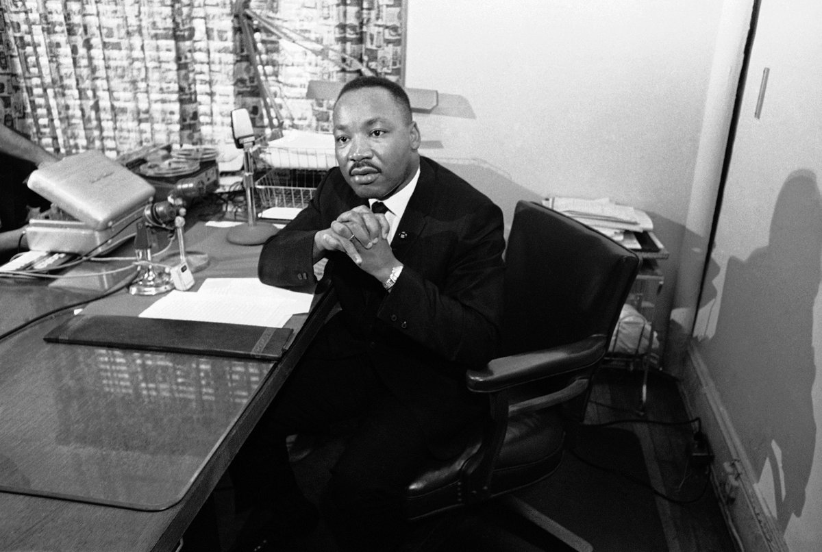 "He was revolutionary, bold, sobering and he made it clear that no one was exempt from pursuing justice: ""Every man of humane convictions must decide on the protest that best suits his convictions, but we must all protest."" Today, we remember and salute Dr. Martin Luther King Jr."