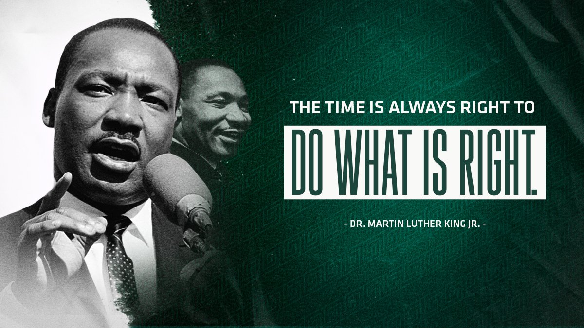 Today we celebrate and remember the life of Dr. Martin Luther King Jr. #MLKDay https://t.co/Wm1jdOq8OY