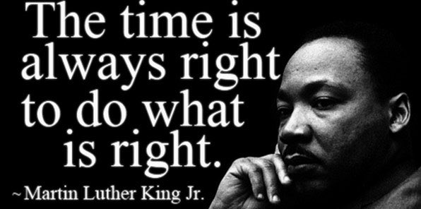 Today, we honor and remember Dr. Martin Luther King Jr.  #MLKDay