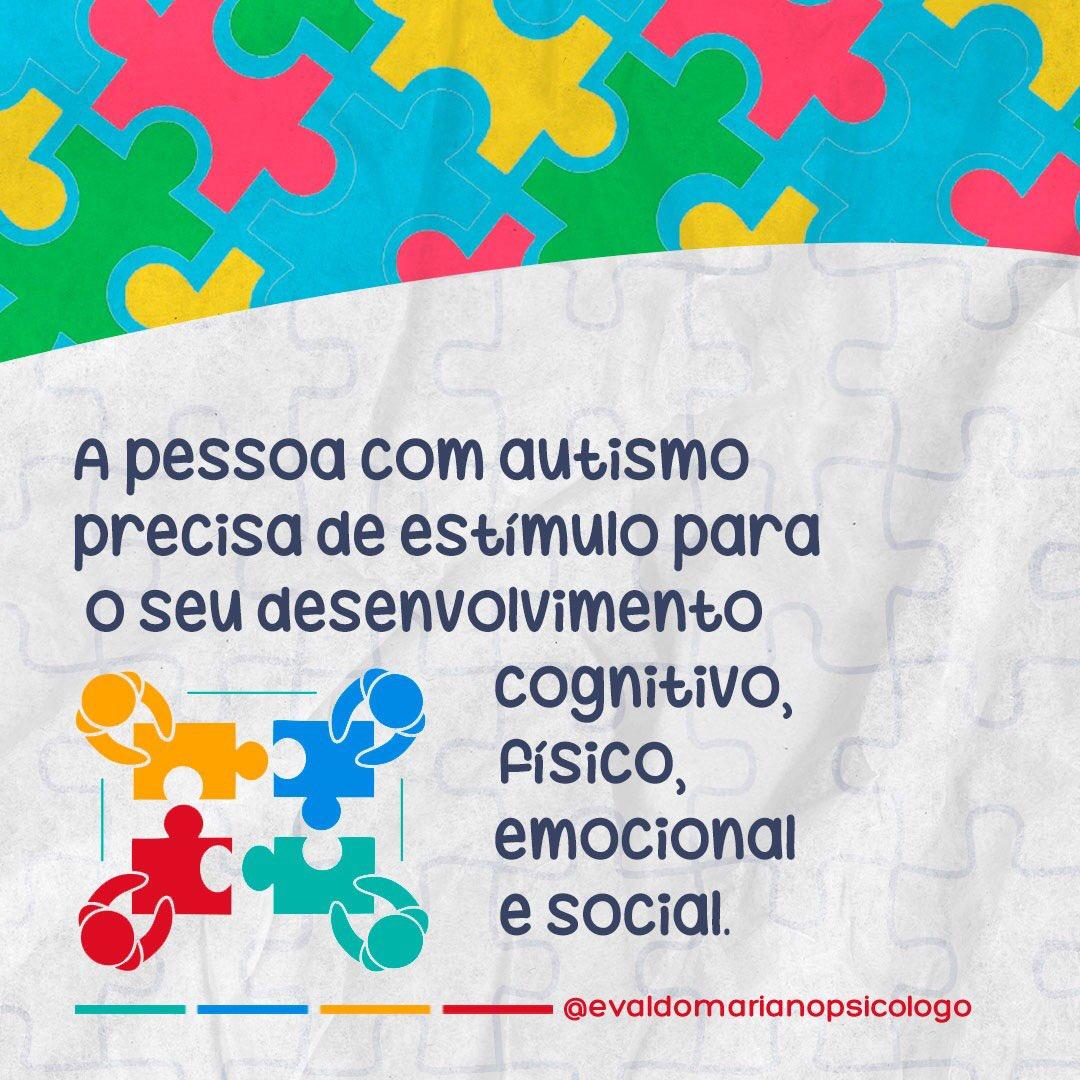 A classificação de cores, reconhecimento do alfabeto, atividades de psicomotricidade, consciência corporal e socialização são algumas alternativas terapêuticas para crianças e adolescentes com autismo. 💡🧠 #autismonaotemcara #autismo💙 #autismosevero #evaldomarianopsicólogo