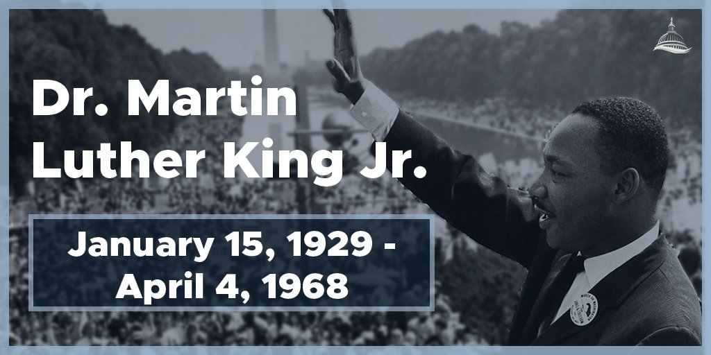 Today, we honor the remarkable life and imperishable legacy of Dr. Martin Luther King Jr. He taught us to use our bodies, hearts and minds in the struggle for peace and strong democracy. #MLKDay