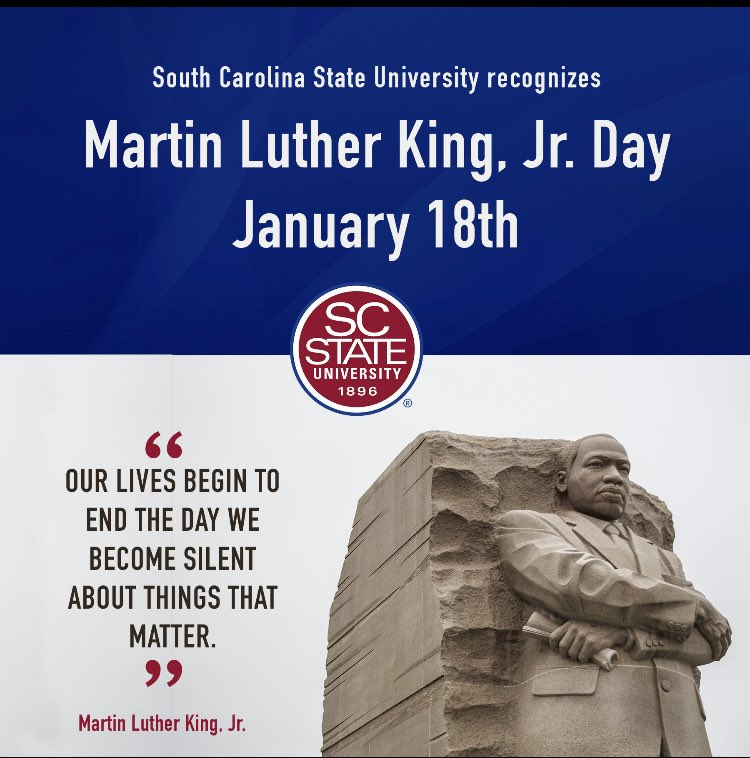 Today we reflect on Dr. King's life and legacy. #MLK #MLKDay #MLKDay2021