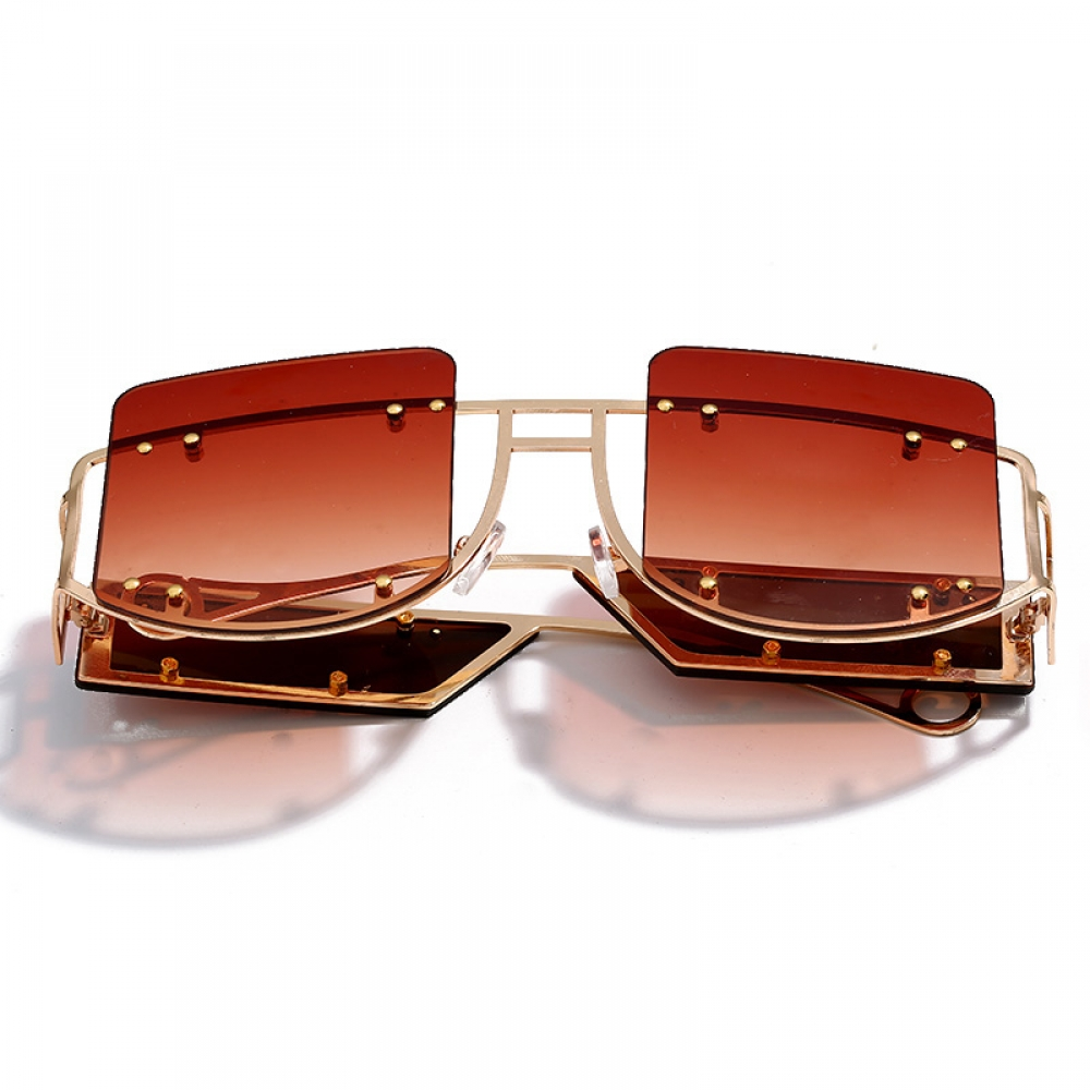Oversized Square Shaped Sunglasses #summer #sun