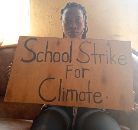 I was unable to strike  my #week 43 due to internet shut down in my country, but the struggle continues #schoolstrike4climate #ClimateStrikeOnline https://t.co/l3HBaDXcWF