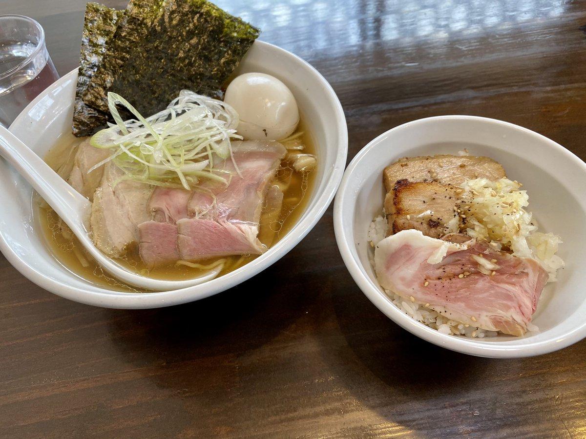 アメブロを投稿しました。『8。麺屋花畑@幸手市☆特製ラーメン➕ミニチャーシュー丼』#アメブロ #麺屋花畑